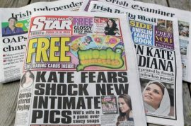 Kate Middleton topless pictures now leads to Irish Daily Star editor resigning.