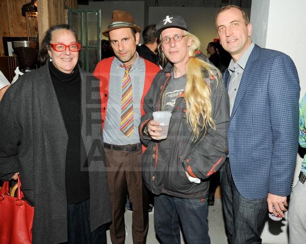 Kim Hastreiter, Aaron Rose, Kyle McCormack, Shawn Gensch