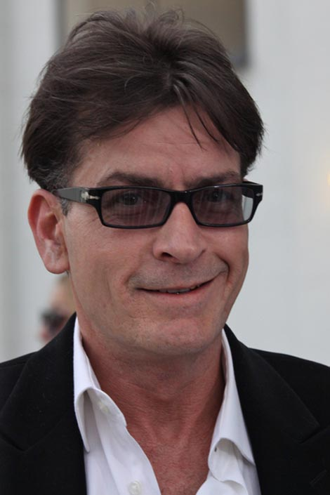 Charlie Sheen is the preferred hawt bixch you wish you were too...