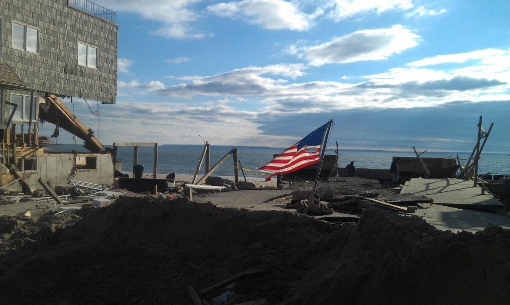 Hurricane Sandy at the Rockaways, NY
