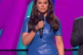 Khloe Kardashian now dressing in leather like sister Kim.