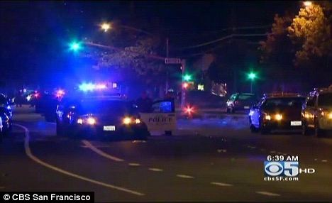 Fremont Police department responded to a naked 37 year old man chasing his estranged wife with a knife.