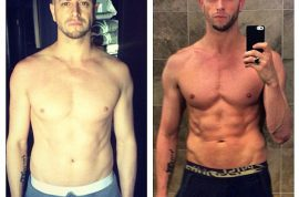 X Factor's Brian Friedman reveals his new body after 60 day meal plan.