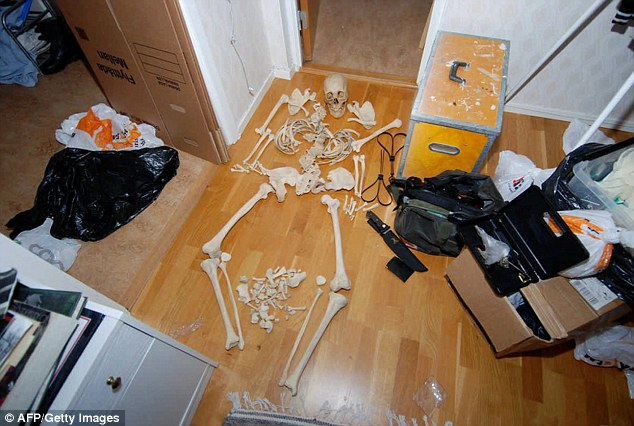 Swedish woman is suspected of using up to a 100 skeleton parts