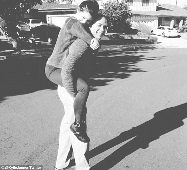 Kylie Jenner and Julian Brooks.