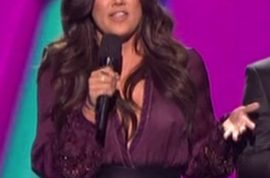 Oh my! Khloe Kardashian exposes her nipple on her first live X factor show.