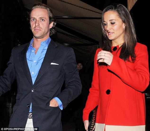 Pippa Middleton and Tom Kingston