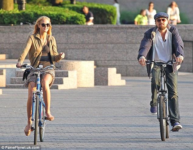 Erin Heatherton and Leonardi DiCaprio
