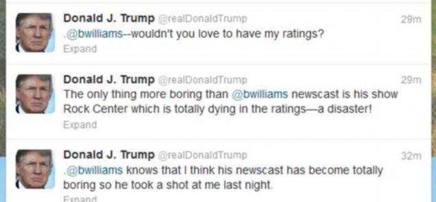Donald Trump twitter.