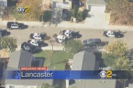 LA car chase leads to fatal police shooting live on TV.