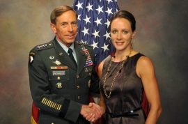 David Petraeus' wife can't believe the shame Paula Broadwell has caused.