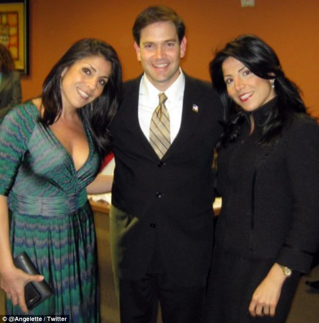 Jill Kelley,March Rubio, Natalie Khawam
