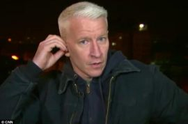 Anderson Cooper Calls Out Twitter Follower; Tells Her Where To Stick Her Flan.