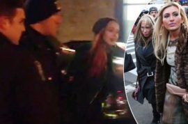 Lindsay Lohan arrested for punching blonde psychic at NYC nightclub. Jail?