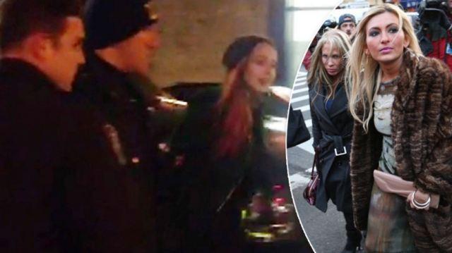 Lindsay Lohan and Tiffany Eve Mitchell