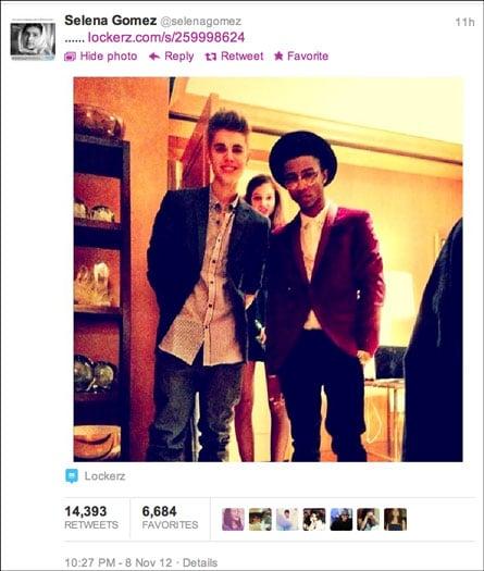Justin Bieber and Barbara Palvin.