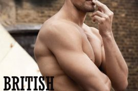 David Gandy goes topless for 10 Men's Magazine. Would you hit it?