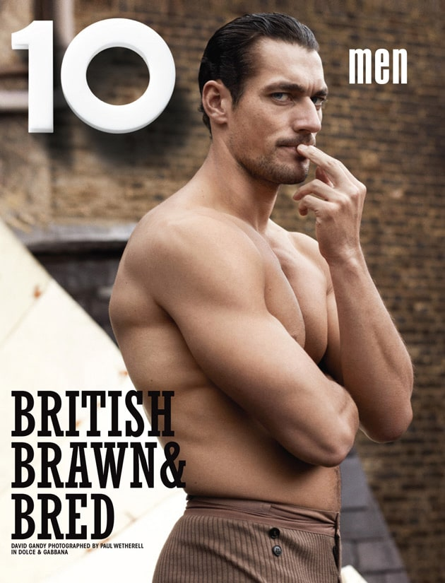 David Gandy for 10 Men's Magazine.
