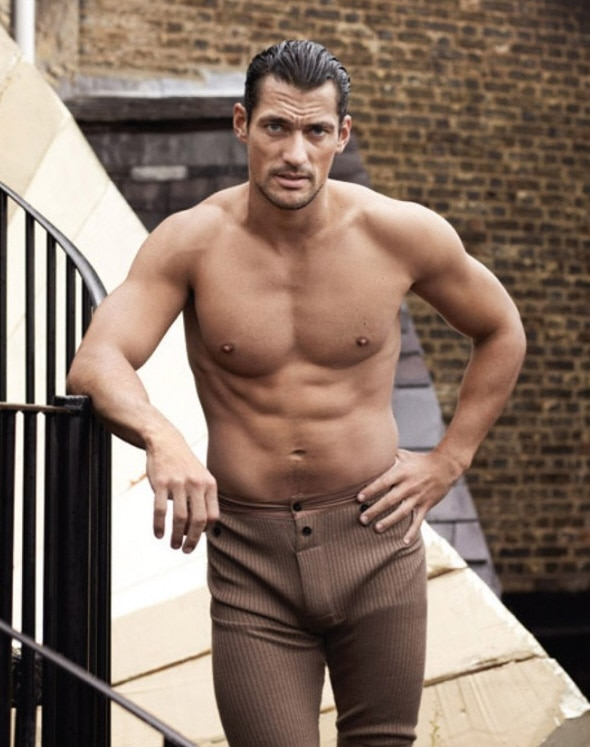 David Gandy for 10 Men's Magazine.