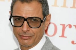 Jeff Goldblum can resume his life now that his female stalker is arrested.