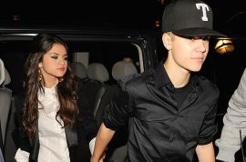 Justin Bieber and Selena Gomez back together. Sleeps over her house…