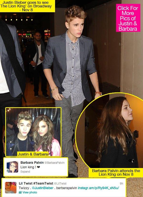Justin Bieber and Barbara Palvin