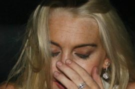 Lindsay Lohan said to have been drinking and binging for days after TV bomb.