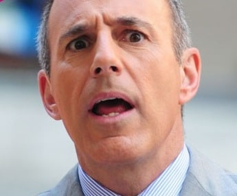 Matt Lauer is not really loved any more...