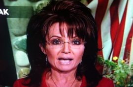 Oh really? Sarah Palin shows up with 80's hairstyle and frosted lip gloss for Fox news.