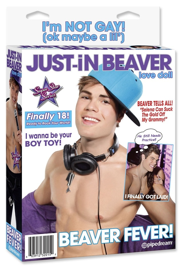 Justin Bieber 'Just-in Beaver' sex doll?