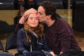 Mary Kate Olsen and her boyfriend Olivier Sarkozy more than ever look like daughter and father.