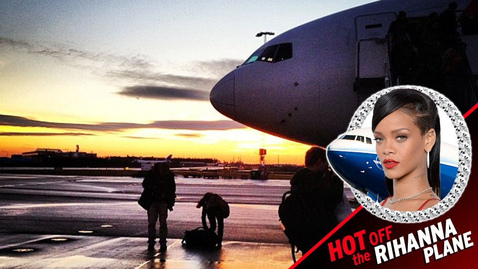 Rihanna's plane