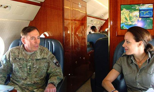 David Petraeus and Paula Bradfield.
