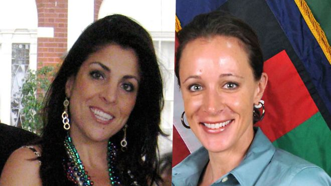 Jill Kelley and Paula Broadwell