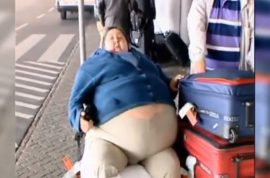 Man now blames airlines for failing to prevent the death of his 425 pound wife. Is he right?