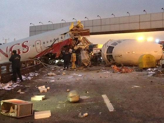 Russian plane crash.