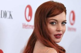 Good news! Lindsay Lohan is now available to be hired for your next wedding and Bat Mitzvah!
