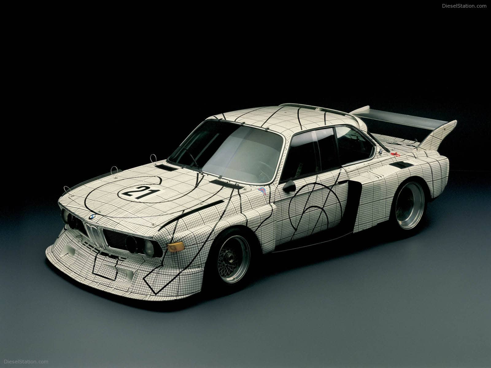 BMW ArtCars, Miami Art Basel 2012.