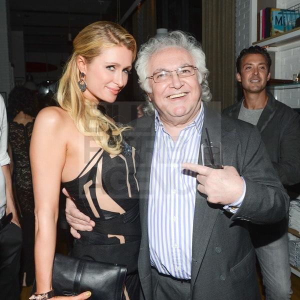 Paris Hilton, Tony Shafrazi
