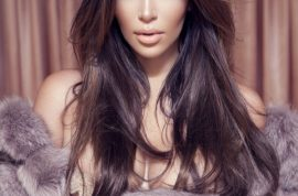 Here is Kim Kardashian repelling us in her lingerie shoot for Factice Magazine.
