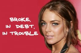 Lindsay Lohan desperately needs you to pay her $16 000 storage locker bill now!