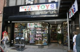 Female employee accuses toy store owner of master-sex relationship. Paid for rent.