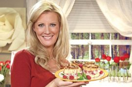 Sandra Lee storms out of Bergdorf Goodman restaurant after overhearing Nick Gruber's new boyfriend slam her.