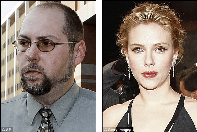 Christopher Chaney and Scarlett Johansson