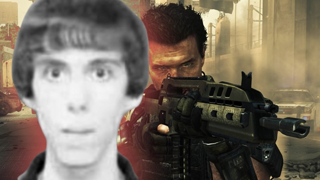 Adam Lanza obsessed over video game of UK banned video game 'Call of Duty.'