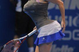 Tennis pro Caroline Wozniacki accused of 'racist' impersonation of Serena Williams.