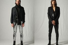 Gents. Have you acquired your latest fashion accoutrement? Men in tights, aka 'meggings?'
