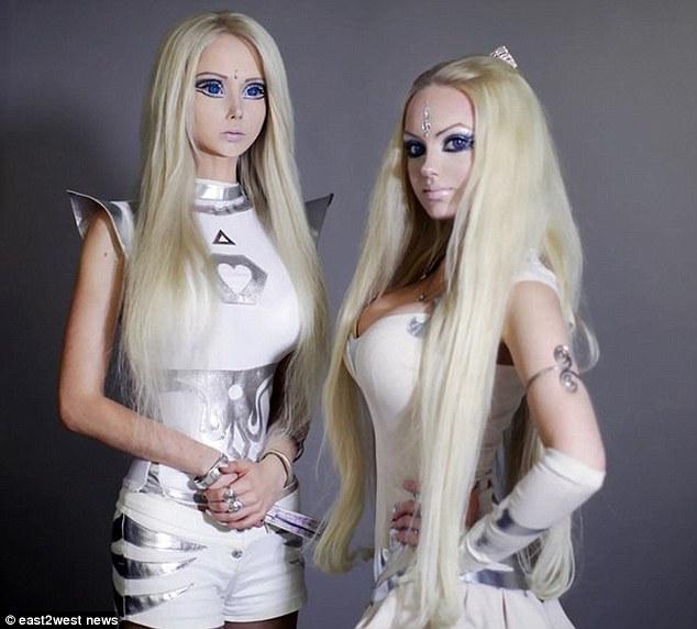 Valeria Lukyanova and Olga Oleynik.