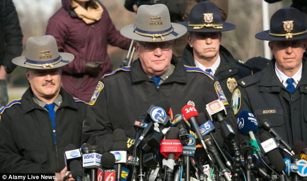 Connecticut State Police Lieutenant Paul Vance