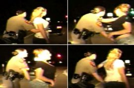 Female cop caught on camera aggressively performing body cavity search on two women outrage.